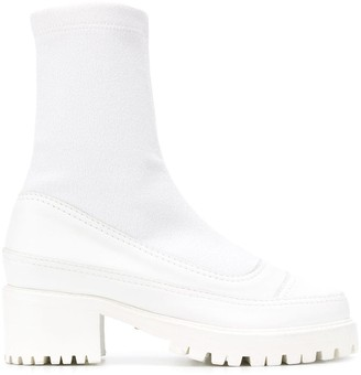 Christina sock ankle boots