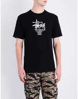 Stussy Big Cities Cotton-jersey T-shirt