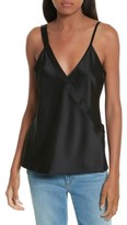 Alexander Wang Women's Draped Satin Wrap Tank