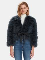 Rebecca Minkoff Harper Tie Front Jacket