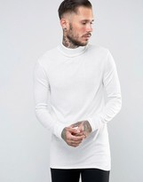 Asos Longline Sweater with High Neck