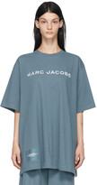 Thumbnail for your product : Marc Jacobs Blue 'The Big T-Shirt' T-Shirt