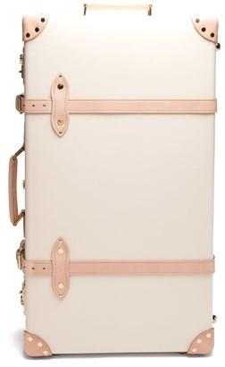 """Globe-trotter Safari 30"""" Check-in Suitcase - White Multi"""