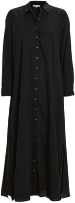 XiRENA Boden Cotton Midi Shirt Dress