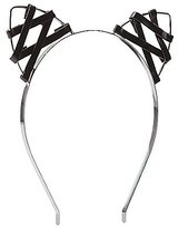 Charlotte Russe Faux Leather Cat Ear Headband