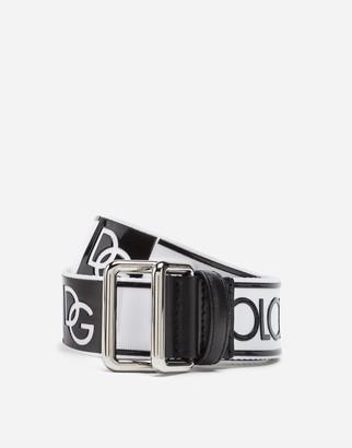 Dolce & Gabbana Branded Tape Belt
