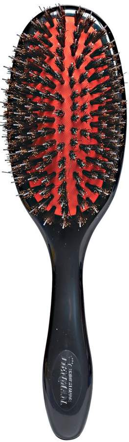 Denman Medium Natural Bristle & Nylon Pin Grooming Brush