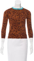 Gucci Patterned Cashmere Cardigan