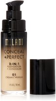 Milani Conceal + Perfect 2-in-1 Foundation + Concealer - 01 Creamy