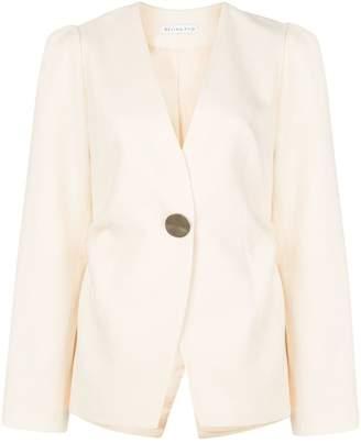 REJINA PYO one-button blazer