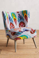 Anthropologie Marialle Ikat Occasional Chair