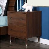 Asstd National Brand Olly Mid-Century Modern 2-Drawer Nightstand