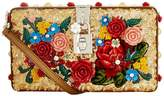 Dolce & Gabbana Floral Sequin Box Clutch