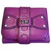 Marc Jacobs Purple Leather Wallet