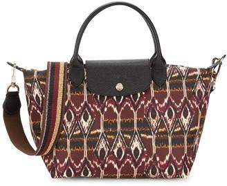 Longchamp Le Pliage Ikat Top Handle Bag