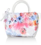 Pate De Sable Floral Beach Bag