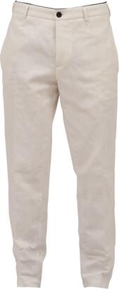 DEPARTMENT 5 Icy White Chino Pants