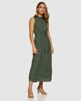 Oxford Andrea Ditsy Floral Midi Dress