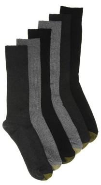Gold Toe Stanton Men's Crew Socks - 6 Pack