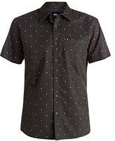 Quiksilver Men's Everyday Mini Motif Short Sleeve Shirt
