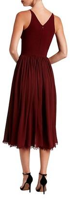 Dress the Population Alicia Chiffon Fit & Flare Dress