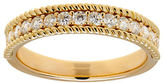 Lord & Taylor Andin 14K Gold Diamond Pave Wedding Ring, 0.50 TCW