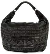 Liebeskind Berlin Studded Leather Hobo Bag
