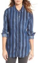 Rails Women's Carter Stripe Chambray Shirt