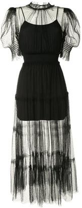 Alice McCall Nova Baby polka-dot tulle dress