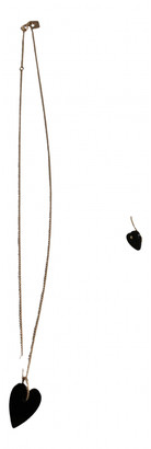 ginette_ny Black Pink gold Jewellery sets