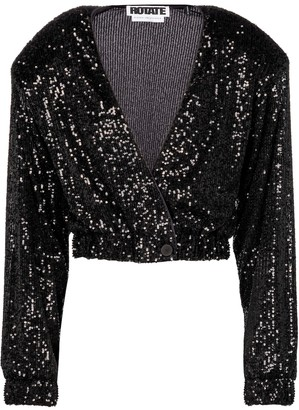 Rotate by Birger Christensen Judy sequined jacket