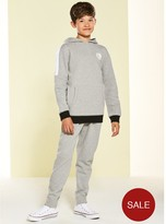 Very Boys Panel Overhead Tracksuit - Grey