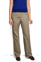 Classic Women's Pre-hemmed 7 Day Hidden Elastic Trouser Pants-True Navy