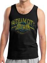 Batman Men's Gotham Basketball Vest,Medium