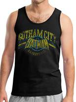 Batman Men's Gotham Basketball Vest,X-Large