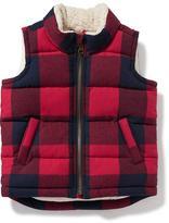 Old Navy Sherpa-Lined Vest for Toddler