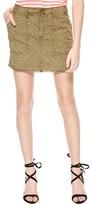 Sanctuary Women's Lily Print Twill Miniskirt