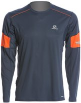 Salomon Men's Agile Longsleeve Running Tee 8120650