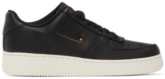 Nike Black Home and Away Air Force 1 07 Jewel Sneakers