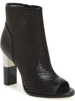 Calvin Klein 'Krizia' Peep Toe Bootie (Women)