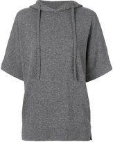 Cruciani short-sleeved hoodie