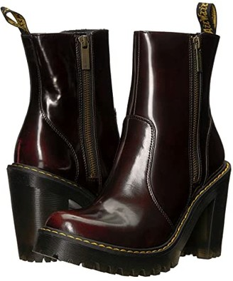 Dr. Martens Magdalena II Seirene (Cherry Red) Women's Boots