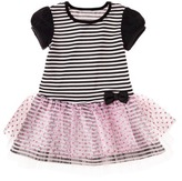 Harajuku Lovers Mini for Target® Toddler Girls' Tee Shirt Dress - Black/White