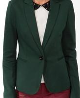 LOVE21 LOVE 21 Ponte Knit Jacket
