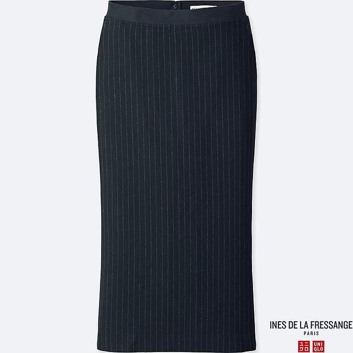 Uniqlo Women's Soft Tweed Skirt (ines De La Fressange)
