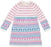 Jo-Jo JoJo Maman Bebe Fair Isle Dress (Baby) - Natural-12-18 Months