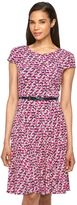 Jessica Howard Women's Print Belted Fit & Flare Dress