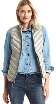 Gap ColdControl Lite metallic puffer vest