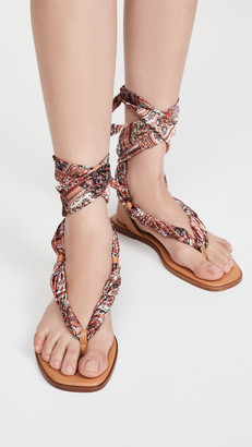 Alice + Olivia Caliea Wrap Sandals