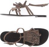 Pura Lopez Toe strap sandals